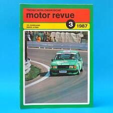 DDR   CSSR-Motor-Revue Motorrevue 3/1987   Skoda Tatra Liaz Stella Jawa Velorex