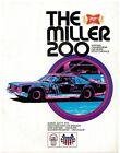 1976  Miller High Life 200  Race Program Milwaukee
