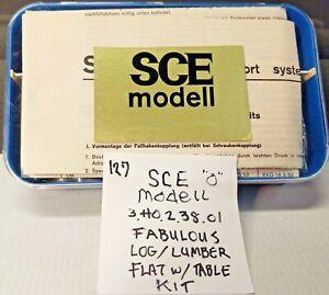 KIT SCE 3.40.2.38.01 DB Turntable type lumber car (twt 127)