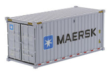 DIE CAST MASTERS 1/50TH Maersk - 20' Shipping Container 2 Pack O SCALE 91025/6