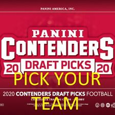 2020 Contenders Draft Picks Season Ticket Team Sets w/ RC Inserts PICK YOUR TEAM