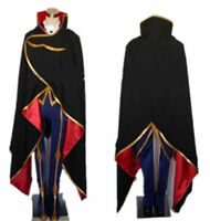 Code Geass Lelouch of the Rebellion ZERO Cso Cosplay Costume