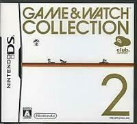USED Nintendo DS Game & Watch Collection 2 Club Nintendo Limited