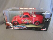 774F Maisto Marvel Spider Man Chevrolet Ssr Concept 1:25 +Box
