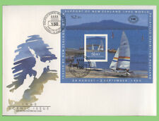 New Zealand 1990 Scenic Issue set & m/s on two First Day Cover