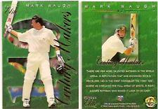 CRICKET MARK WAUGH 1st Test Century Maker 1995 FUTERA ASHES ELITE  No 42