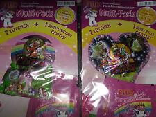 Filly Unicorn Sammel-sticker Multi-Pack/14 Tüten + 2 Baby Filly / Oberon