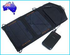 7W Portable Solar Panel Pack+ 12000mAh 3xUSB Power Bank External Mobile Battery