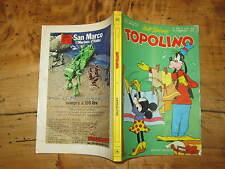 WALT DISNEY TOPOLINO LIBRETTO NUMERO 950 PRESENTI PUNTI CLUB 10 FEBBRAIO 1974