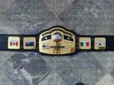 NWA WORLDS HEAVYWEIGHT DOMED GLOBE WRESTLING CHAMPIONSHIP BELT ADULT SIZE