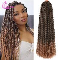 Twist Hair Crochet Braids Long Water Wave Braiding Hair Extensions Synthetic Twi