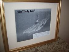 "Official Picture of Special Event Station For USS Lexington "" Lady Lex"""