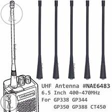 5x UHF Long Antenna for motorola GP338 GP344 GP350 GP388 CT450 Portable radio