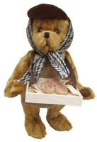 MERRYTHOUGHT Original Muffin Man English Teddy Bear 12in Mohair L/E Numbered NEW