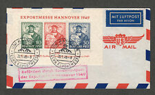 Germany Sc#664a mi#1a On Expo Cover BPP Cert.