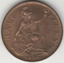 More details for 1929 george v halfpenny coin | british coins | pennies2pounds