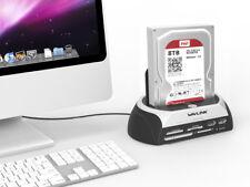 """Wavlink USB2.0 2.5""""3.5"""" SATA HDD Docking Station,Enclosure HardDisk Driver Dock"""