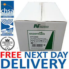 Northwood Premium C Fold White Paper Hand Towels 2 Ply 2355.. BUY 2+ GET 10% OFF
