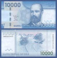 CHILE 10.000 Pesos 2013  UNC  P.164 c