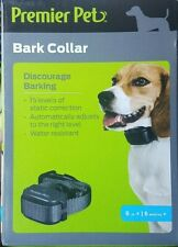 Premier Pet BARK COLLAR • AUTOMATIC BARK CONTROL • 15 LEVELS • VIBRATION • DOG