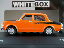 WhiteBox WB168 Simca Rallye 2 (1976) in orange/mattschwarz 1:43 NEU/OVP