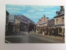 High Street PENMAENMAWR, Wales 1976 Vintage Postcard Posted 1556