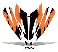 Sled Hood Graphics Kit Decal Sticker Wrap For Arctic Cat M Series M7 M8 ATTK ORG