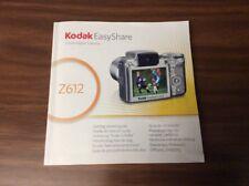 Manuale Istruzioni Kodak Easyshare Z612