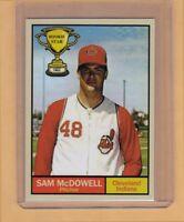 Sam McDowell '62 Cleveland Indians Rookie Stars series #14 Monarch Corona