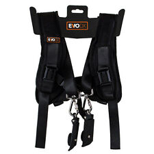 EvoDX Double Dual Shoulder Chest Harness for DSLR Camera Canon Nikon Sony etc.