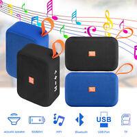 Portable Bluetooth Wireless Speaker Outdoor Waterproof Stereo Bass USB/TF/Radio
