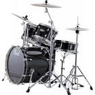 Batterie Pearl Export Standard 22'' Jet black avec cymbales