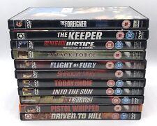 Steven Seagal 11 X DVD Action Movie Bundle