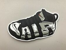 cd082eec0a4f Nike Air Uptempo More- Sneaker Shoe laptop sticker decal
