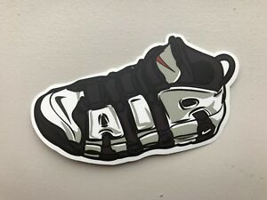 Nike Air Uptempo More- Sneaker Shoe laptop sticker decal