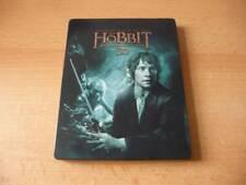 Blu Ray Der Hobbit - Eine unerwartete Reise - 3D - 4 Disc Set - Steelbook - RARE