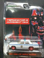 New listing Greenlight 1983 Ford Ltd Crown Victoria Terminator 2 Target Red Chase Damaged