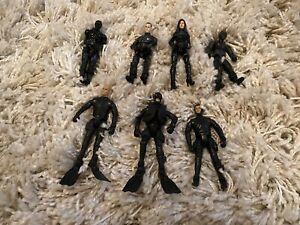 Job Lot of GI Joe Rise of Cobra Figures Duke Destro Snake Eyes Baroness Rare