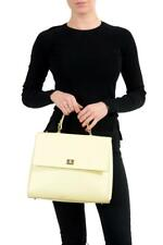 New Hugo Boss woman yellow leather tote birkin handbag case MM speedy bag £1090