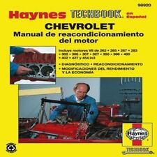 Chevrolet Manual de Reacondicionamiento del Motor (Haynes Techbook en Espanol) (