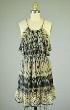 JOIE Silk Ikat Print Racerback Mid-Thigh Dress Size Small
