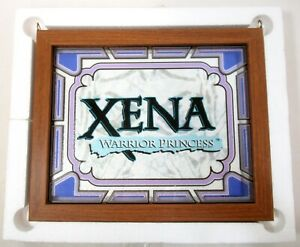 Studios USA Xena Warrior Princess Framed Logo Glass Art