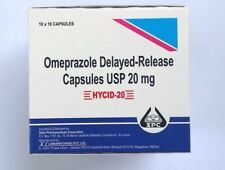 Omeprazole 20 mg OTC 100 ct Capsules Acid Re flux Heart Burn Reducer Treatment