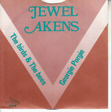"""JEWEL AKENS  The Birds & The Bees & Georgie Porgie SOLID SLEEVE 7"""" 45 record NEW"""