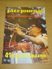 JAZZ JOURNAL INTERNATIONAL VOL 41 #10 1988 OCTOBER DOC CHEATHAM HANK MOBLEY