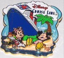 Disney Pin: Disney Cruise Line DCL Mickey & Minnie on the Beach