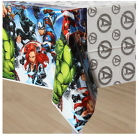 Marvel Avengers Plastic Table Cover ~ Boys Birthday Party Supplies Decoration