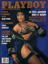 PLAYBOY NOVEMBER 1991-T - TONYA CHRISTENSEN - LATOYA JACKSON !