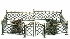Antique Cast Iron Christmas Tree Fence ca1910