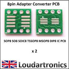 SOP-8 SOIC-8 TO DIP-8 Adapter PCB
